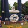 Rugby skills inflatable